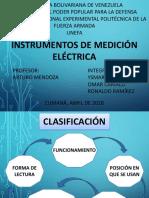 Instrumentos de Medición electrica