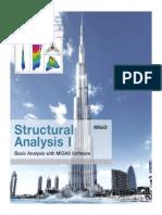 Midas Gen Structural Analysis (Basic)