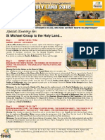 Holy Land Pilgrimage 03-09 May 2018 - CFC Group