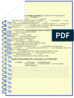 Be in the Past 2 Page Activity Grammar Drills Picture Description Exercises 78970