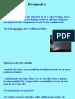 Psicrometria - Refrigeração e Ar Condicionado