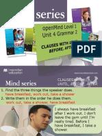 OpenMind 1 Unit 04 Grammar 2