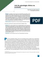 4clínica. A funç㍋o social da psicologia clí'nica nacontemporaneidade.pdf