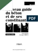 Nouveau Guide Du Béton Et Ses Constituons