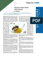 Warnke-Bienen Elektrische Felder