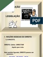 Introdução á Legislação