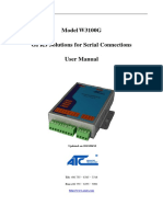 W3100G Serial DTU User Mannul V1.0