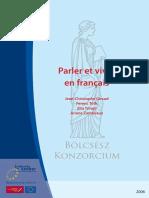 Parler Et Vivre en Français [ WwW.livreBooks.eu ]