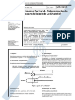 NBR 11582 - 1991 - Expansibilidade
