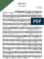 CIELO AZUL Canto a Dolores - Clarinete Bajo en Sib - 2016-09-07 1922 - Clarinete Bajo en Sib