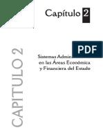 GESTION PUBLICA IV. Capitulo 2. Sistemas Administ.s en Las Areas Econ. y Financiera Del Estado