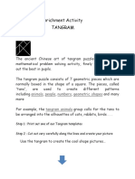 Tanagram Maths Enrichment