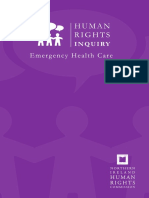 NIHRC Emergency Healthcare Report