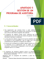 APARTADO 5 Programas de Auditoria