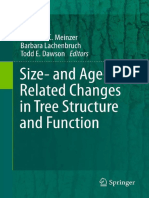 Size- And Age-Related Changes in Tree Structure and Function, Tree Physiology {Frederick C. Meinzer} [9789400712416] (Springer - 2011)