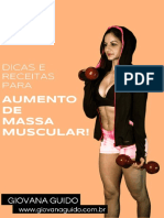 Guia de Receitas Para Aumento de Massa Muscular