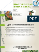 Agrobiodiversidad en Flora y Fauna