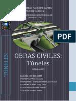 MONOGRAFIA OBRAS CIVILES - tuneles