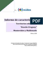 Informe de Caracterización territorios educativos