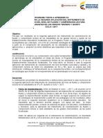 Instructivo II Caracterización Nivel de Fluidez y Comprensión Lectora 3ro y 5to.docx (1)