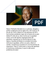 Investigacion Nelson Mandela
