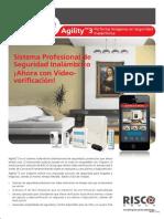 Agility3 Installer Brochure SP-LR