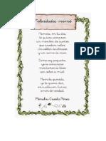 Poesia a La Mamá 08 de Mayo