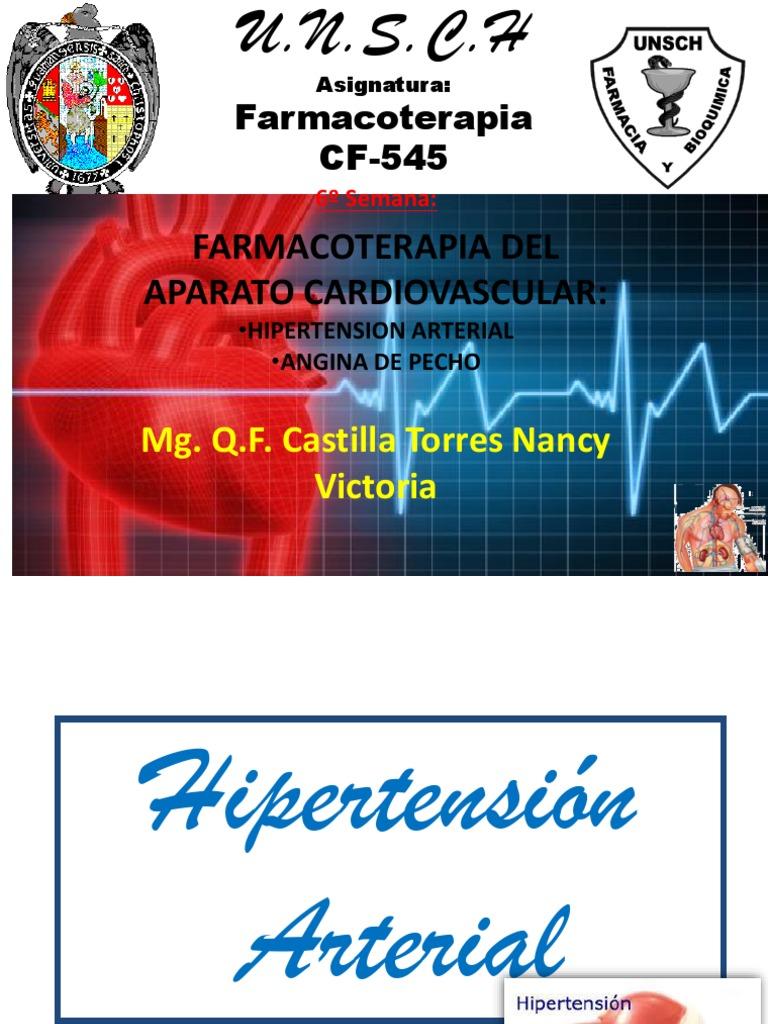 Agentes simpaticolíticos hipertensión