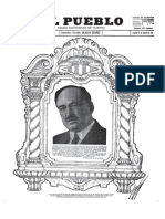 El Pueblo Diario Republicano Muerte de Blasco Ibáñez 29-5-1933