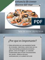 La Importancia de Comer Productos Del Mar