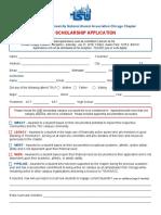 2018 tsunaacc scholarship application