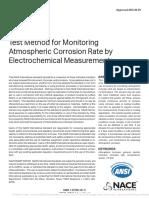 ANSINACE TM0416-2016 Test Method for Monitoring At