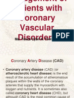Coronary artery diseases