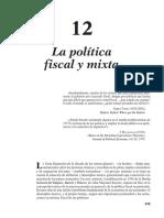 Politica Fiscal y Mixta
