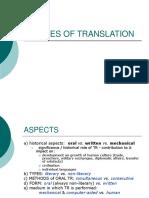 TIpos de Traducciones