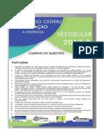 Prova Cederj 2017-2
