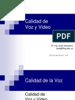 Calidad de Voz y Video (Presentacion)
