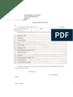 Foreigners Registration Form