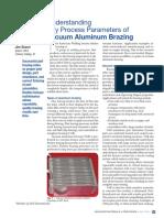 Understanding Key Process Parameters of Vacuum Aluminum Brazing