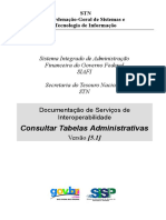 NovoSiafi PIE Tabelas WebServices