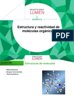 2.2. Estructura y Reactividad de Moléculas Orgánicas ACTUALIZADO