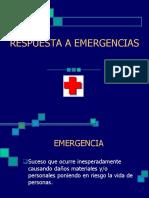 1. Respuesta a Emergencias