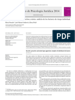 Agresividad Reactiva Proactiva y Mixta an Lisis de 2014 Anuario de Psicolo