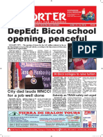 Bikol Reporter June 10 - 16, 2018 Issue