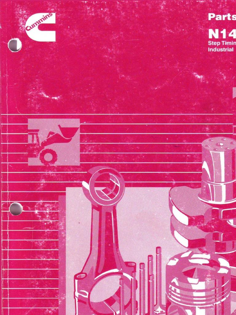 Каталог-Cummins-N14 Catalogue Parts Numbers.pdf | Piston | Cylinder (Engine)