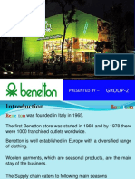 72864427 Benetton Supply Chain Management