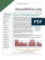 Hidrocarburos Bolivia Informe Semanal Del 20 Al 26 Sept 2010