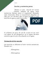 Mezclas y Sustancias