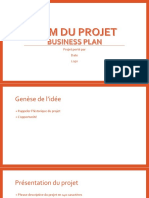 Exemple de Business Plan Powerpoint Pour Start Up