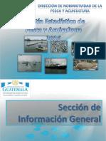 Boletin Estadistico Pesquero Guatemala 2016